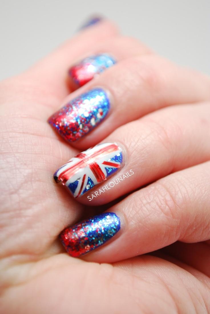 Union Jack Nails!