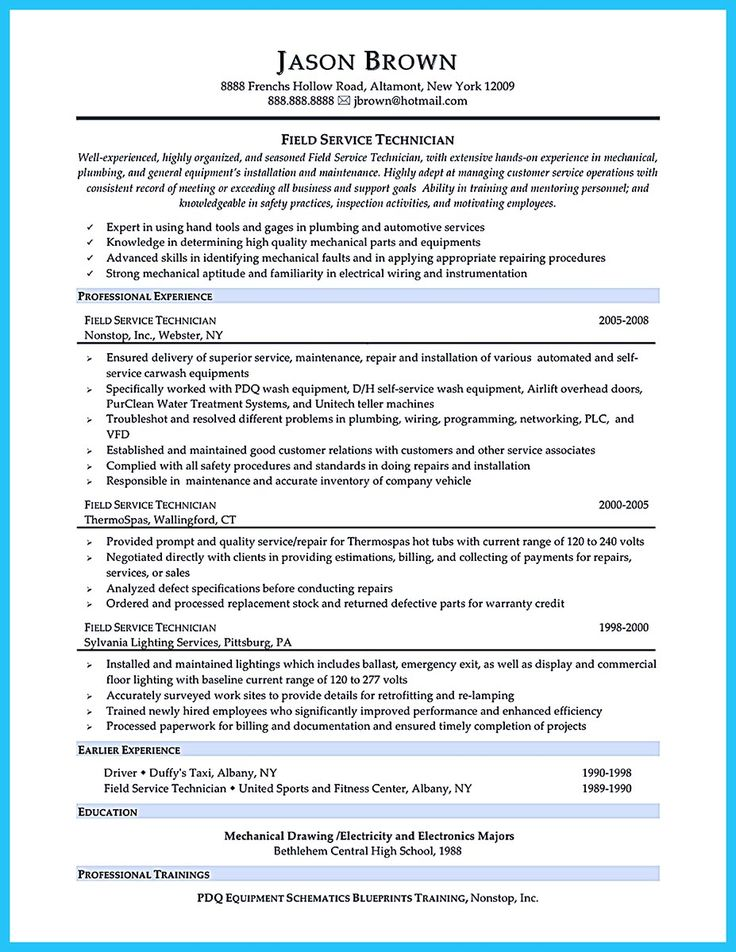 technician resume are you trying to make the best cable technician - Cable Technician Resume