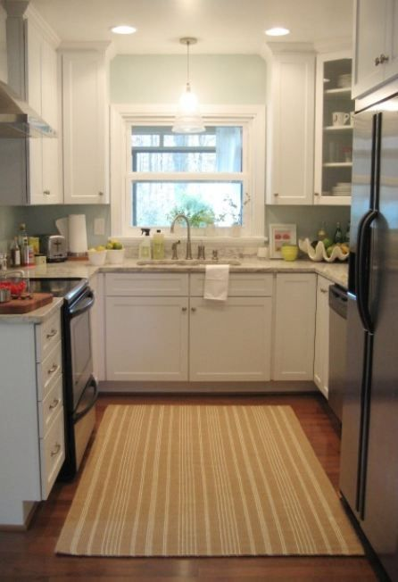 1000 images about kitchen layout on pinterest square - Small square kitchen design ideas ...