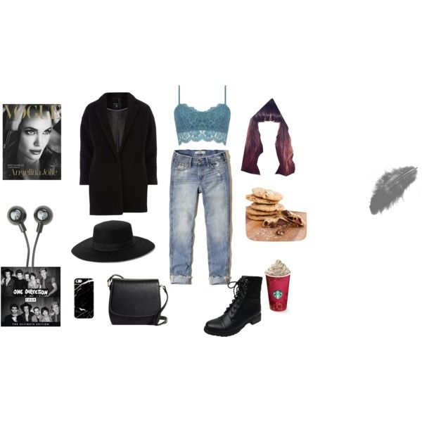 A fashion look from February 2015 featuring Dorothy Perkins coats, Hollister Co. jeans and Bamboo ankle booties. Browse and shop related looks.