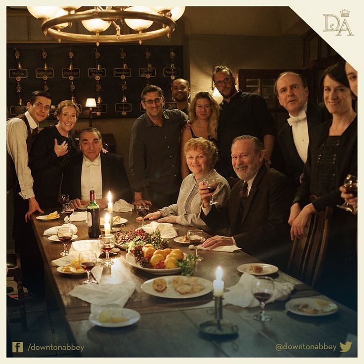 "9,078 Likes, 61 Comments - Downton Abbey (@downtonabbey_official) on Instagram: ""Raise a glass to #TeamServants for all their hard work. #Downton"""