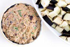 Хумус с печёными баклажанами рецепт :: JV.RU