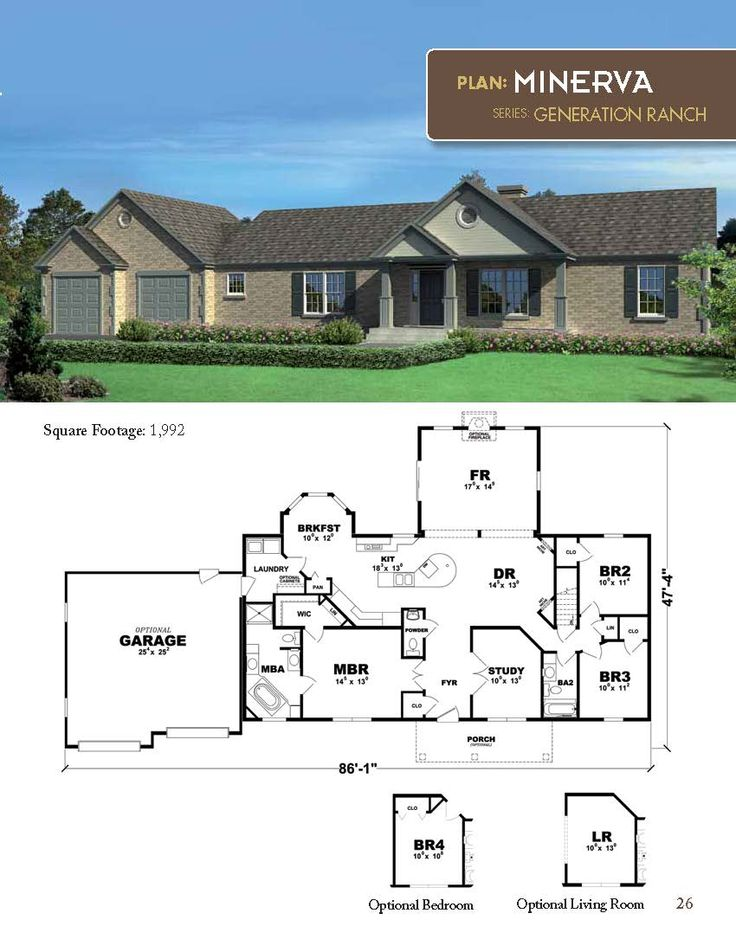 33 Best Images About Generation Ranch Home Plan Series On