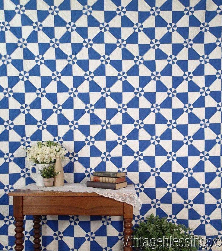 541 Beste Afbeeldingen Over Blue And White Quilts Op