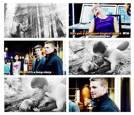 Arrow - Oliver and Felicity #3.8 #Season3 #Olicity <3<3<3
