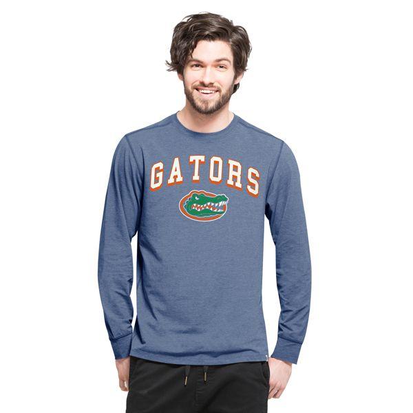 Florida Gators Cadence Long Sleeve T-Shirt Mens Shift Blue 47 Brand