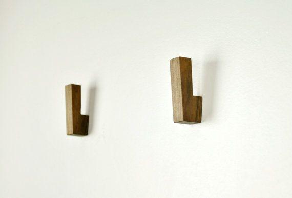 Wooden Wall Hook / Wooden Coat Hooks