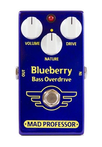 Mad Professor Blueberry Bass Overdrive Effect Pedal
