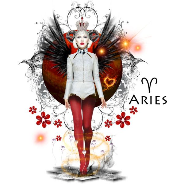 This is another favorite. I love the mix of red, white, and black. As Aries it is a hard edged sign with Mars as the associated planet. Because of that I had de...