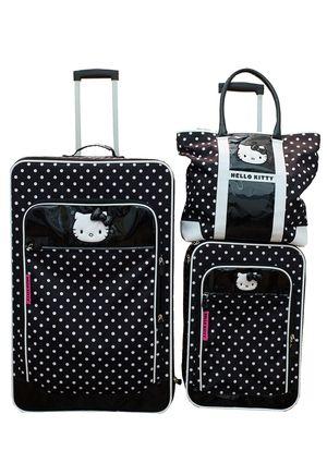 Hello Kitty Dots Luggage Set