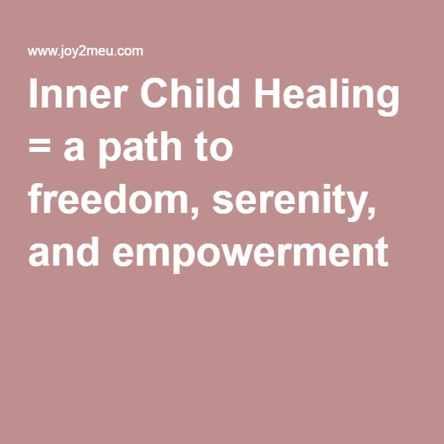 healing your inner child pdf