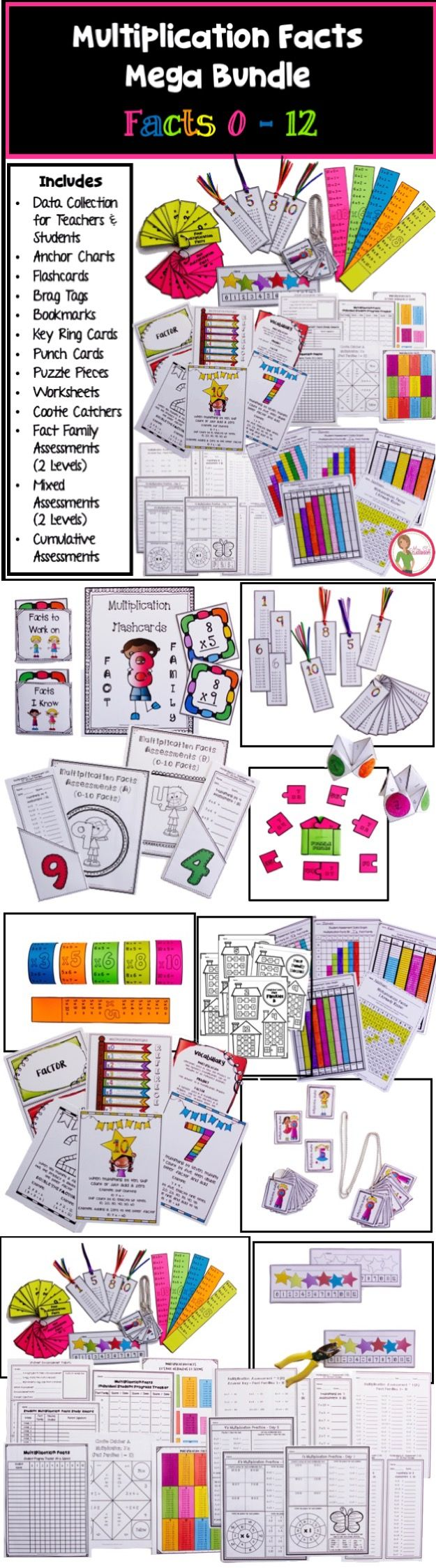 25 Best Ideas About Multiplication Chart On Pinterest
