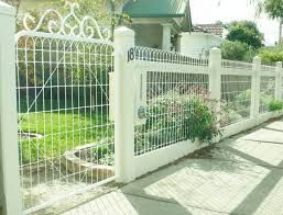 Image result for decorative woven wire fencing
