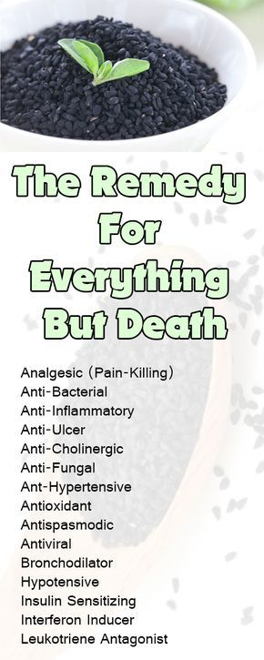 The remedy for everything but death