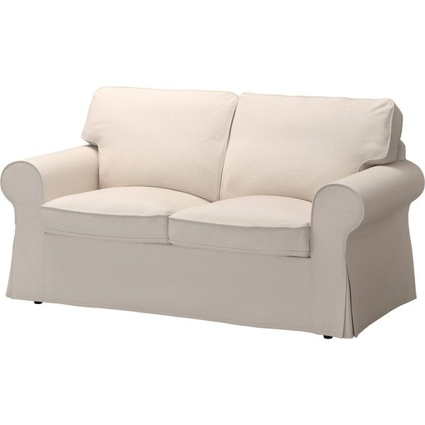 Slipcovers For Sofas IKEA EKTORP Loveseat Lofallet beige Seat cushions filled with high resilience foam and polyester fiber wadding provide fortable support for your