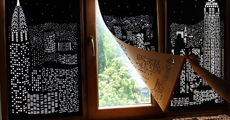 Blackout Curtains That Will Make You Feel Like You're Living In A Penthouse Above A Large City | Bored Panda