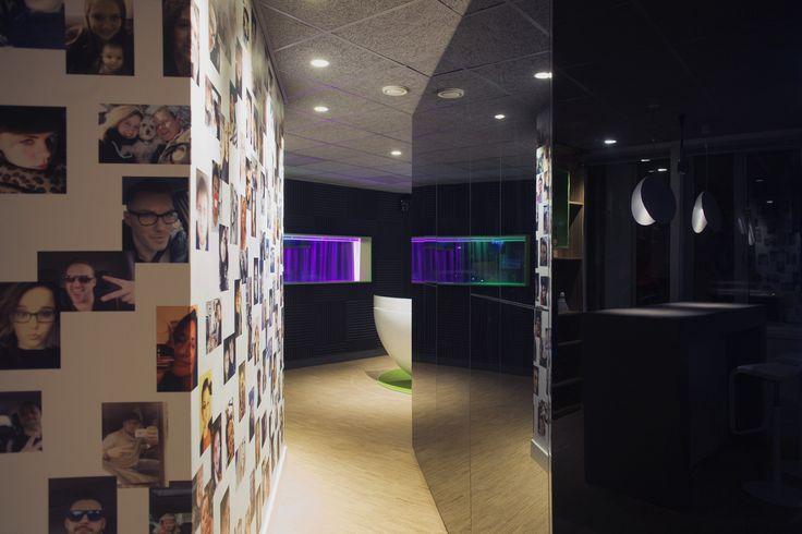©studiomfd on air studio, creative studio, wall pictures, corridor, radio 538 (www.studiomfd.com)