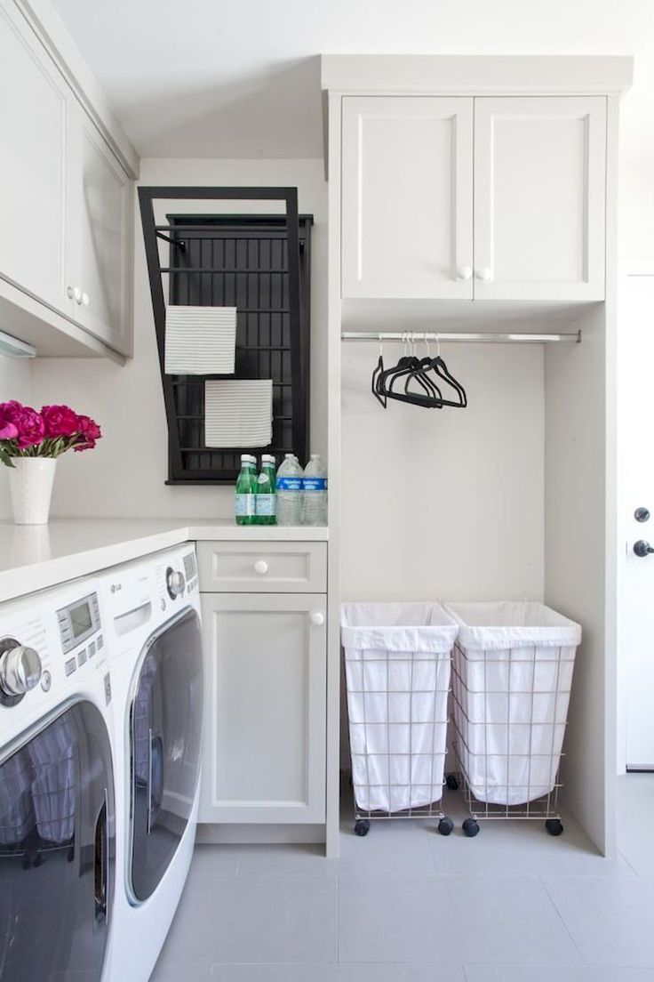 Nice 50 Cool Small Laundry Room Design Ideas https://rusticroom.co/1317/50-cool-small-laundry-room-design-ideas