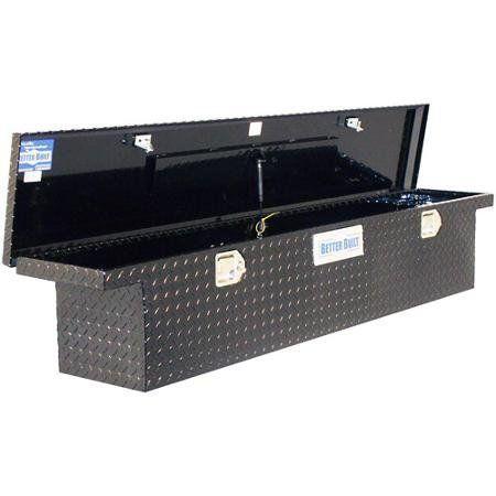 Better Built 70 Inch Black Aluminum Truck Tool Box