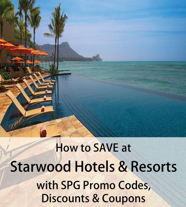 Find the Latest SPG Promo Codes   Save on your next trip with Starwood Coupons