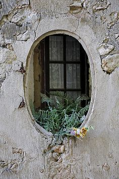 ♕ Fenêtre ovale...