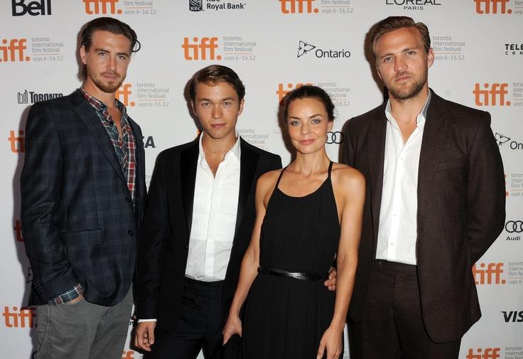 The cast of KON-TIKI
