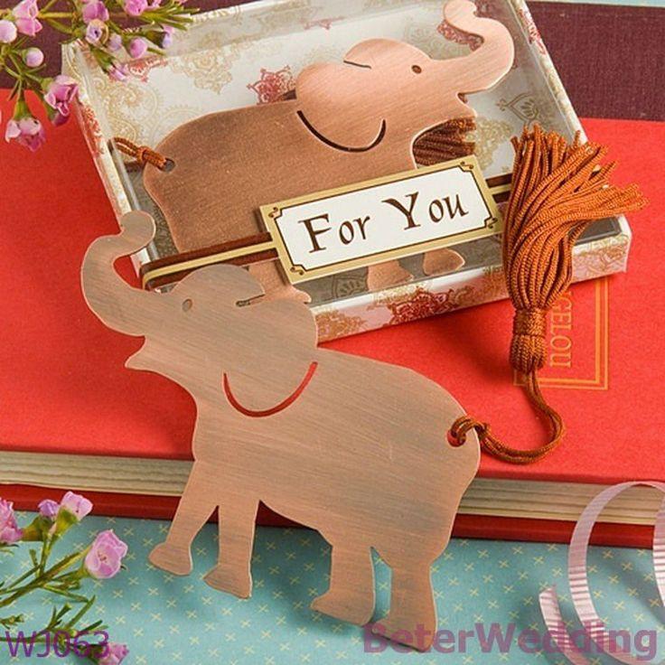Beterwedding decoatation wj063_alluring gros éléphant faveur signet mariage, gift_wedding souvenirsd'affaires