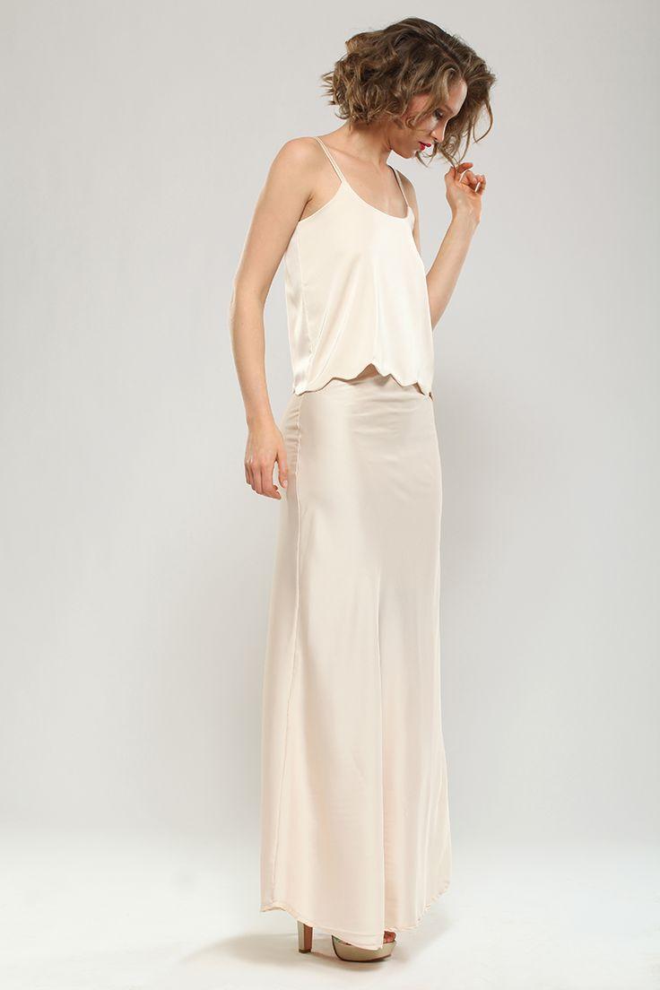 top + maxi falda by CAROLINA ESPERANZA