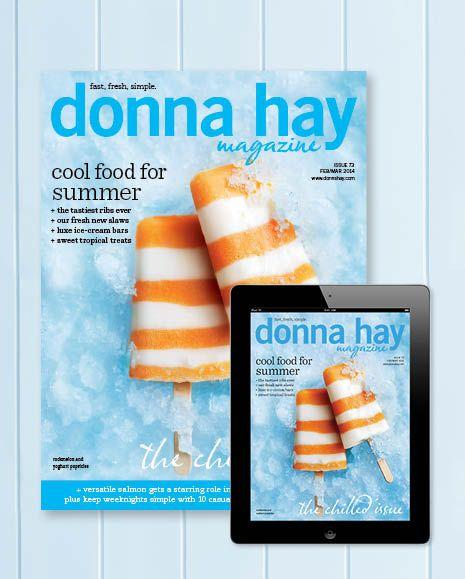 donna hay magazine summer issue, 2014