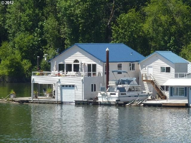 387 best images about boat houses on pinterest ontario Floating homes portland