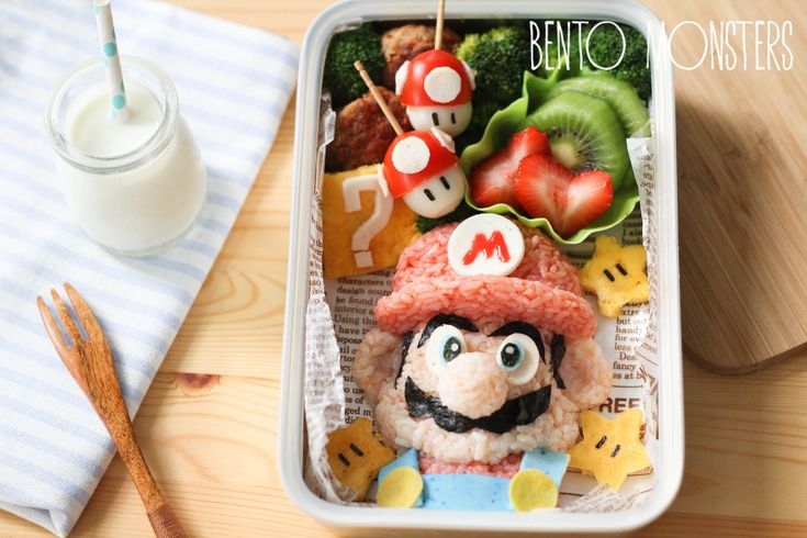 Singapore Mom Makes Adorable Pop Culture-Inspired Meals for Her Kids