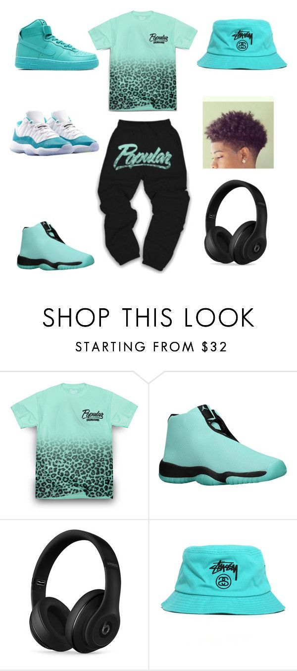 popular by aleisharodriguez ❤ liked on Polyvore featuring Thot, Beats by Dr. Dre, Stussy, NIKE, mens fashion and menswear