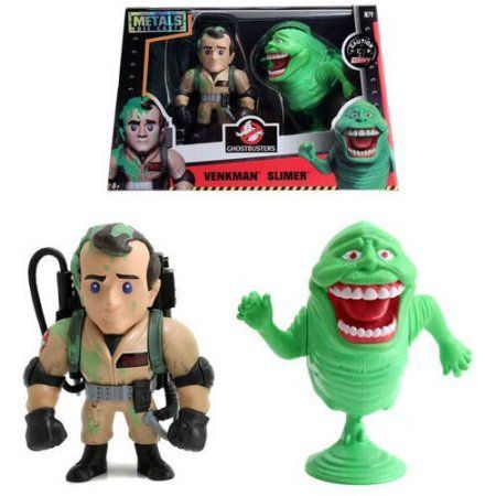 Metals Ghostbusters 4 inch DC Figures Twin Pack, Venkman and Slimer, Beige