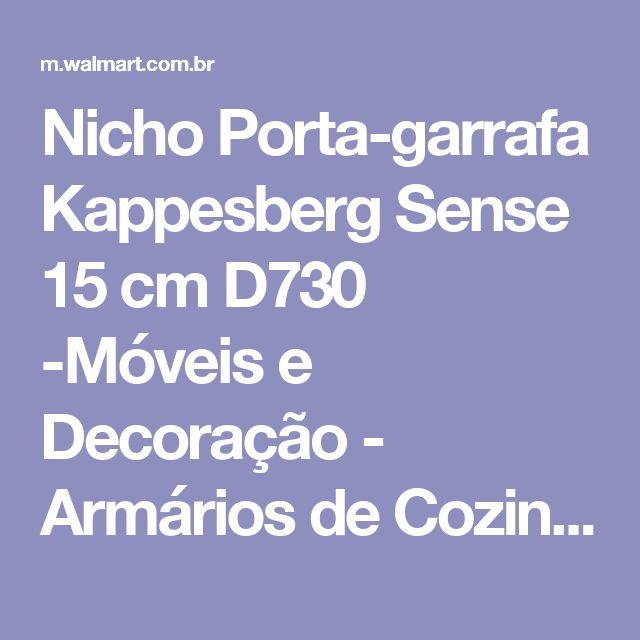 Nicho Porta-garrafa Kappesberg Sense 15 cm D730 -Móveis e Decoração - Armários de Cozinha - Walmart.com