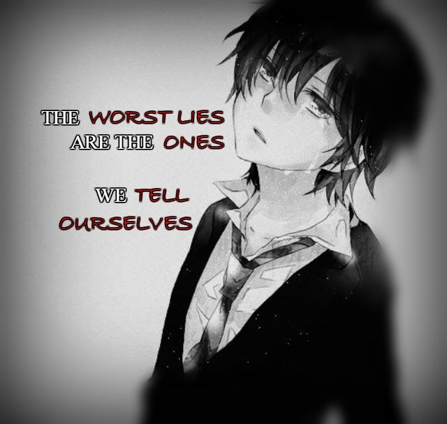 Anime Sad Girl Quotes Pics: 336 Best Anime Quotes Images On Pinterest