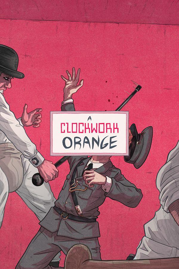 A Clockwork Orange - movie poster - Max Temescu
