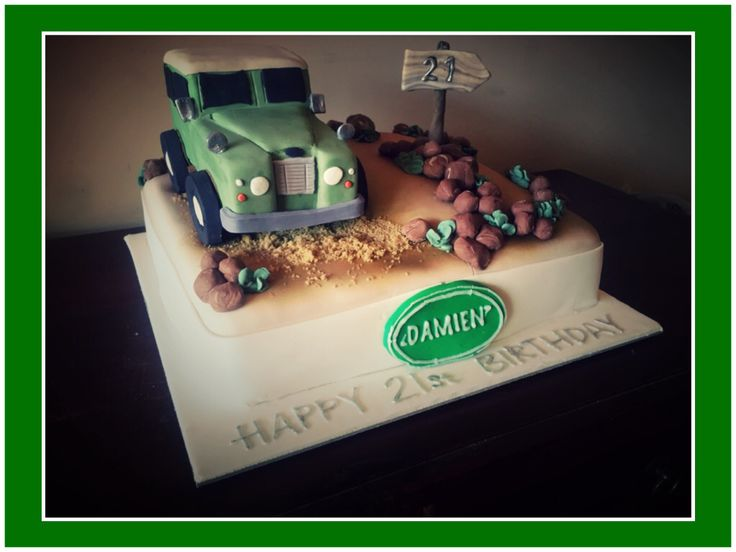 Land Rover Cake Decorations