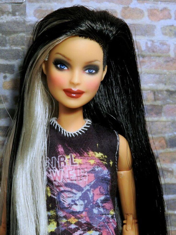 Barbie Mattel made to move Fashionistas Nr.144 Hybrid Doll