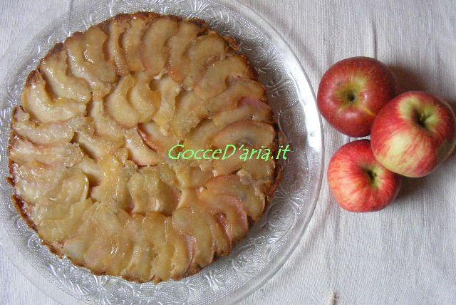 Torta di mele con patata dolce senza glutine: rovesciata o mini?