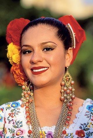 Мексиканский народный костюм женский картинки