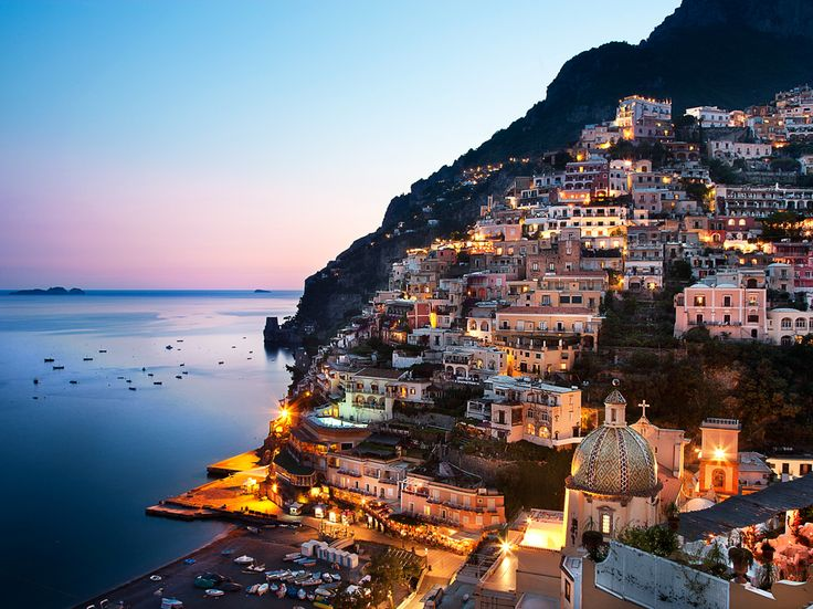 Picture of the Amalfi Coast in Campania, Italy