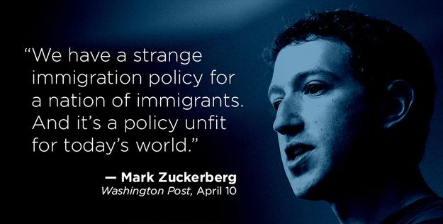 """Mark Zuckerberg On Immigration Reform: """"It's The Right Thing To Do As A Country"""""""