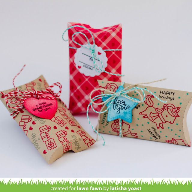 They can also be used on their own to make simple gift tags. Coordinating st& set: Tiny Tag Sayings