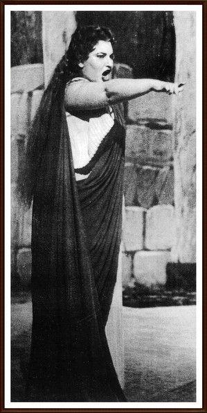 Callas - 1950 Roma  Teatro dell'Opera 23 febbraio   Norma