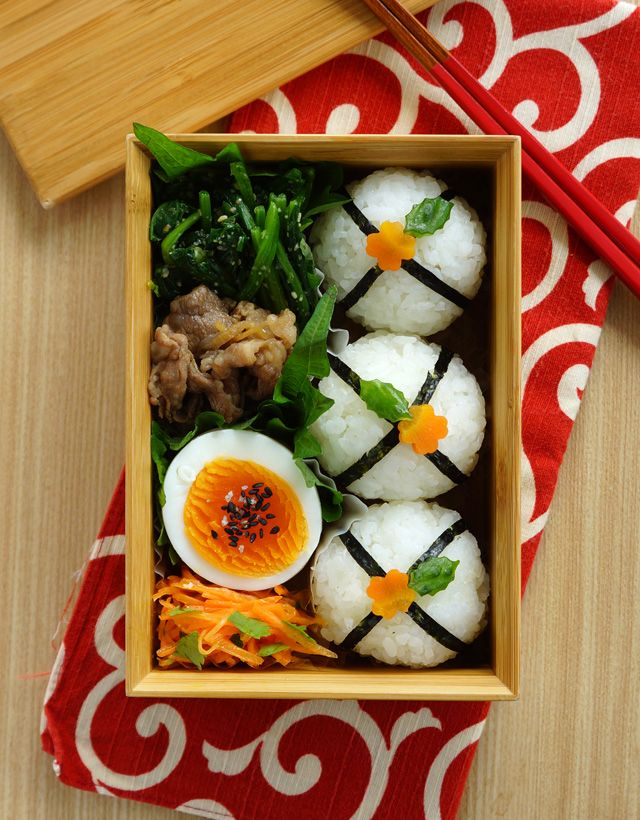 Rice Ball Bento 丸丸おにぎり弁当