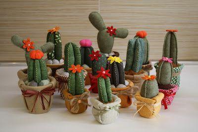 Carolicrea: Cactus di stoffa: il mio tutorial