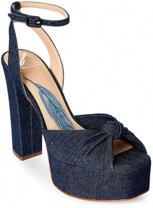 628e33301a1 b brian atwood Gabby Denim Platform Block Heel Sandals #BrianAtwood  #BrianAtwoodHeels
