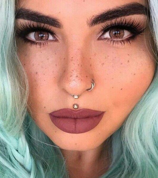 best 25 double nose piercing ideas on pinterest nose