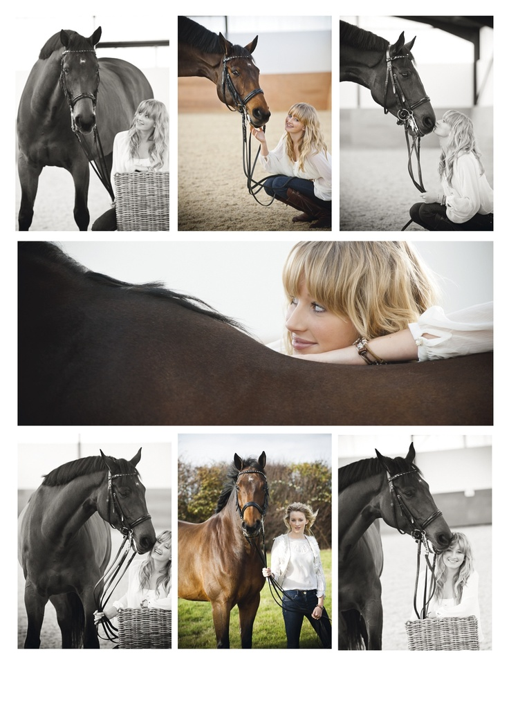 Horse Collage by Emily Hancock Equine Photography