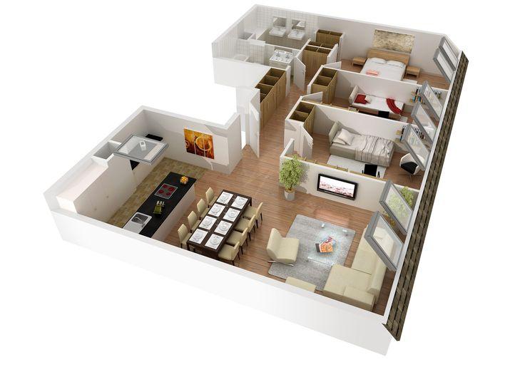 plan mieszkania na 80 m - Szukaj w Google